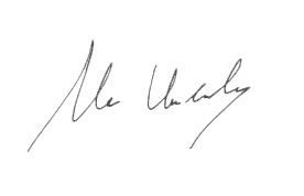 Mr. Undandy signature