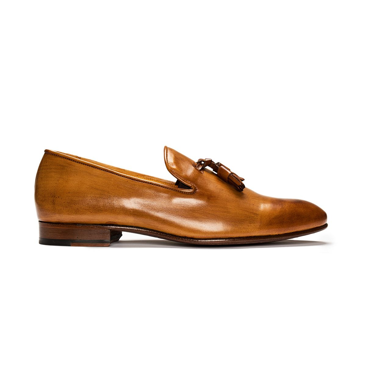 31 by Mark - Patina Loafer; Camel patina; Loafer