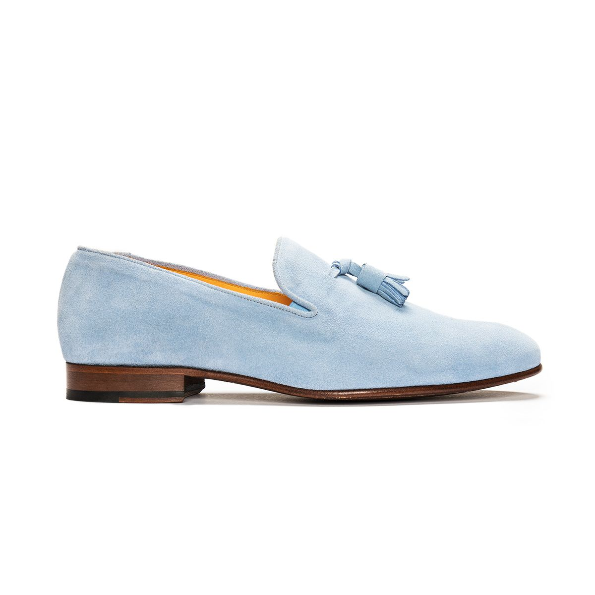31 by StJohn , Loafer suede blue, tassel