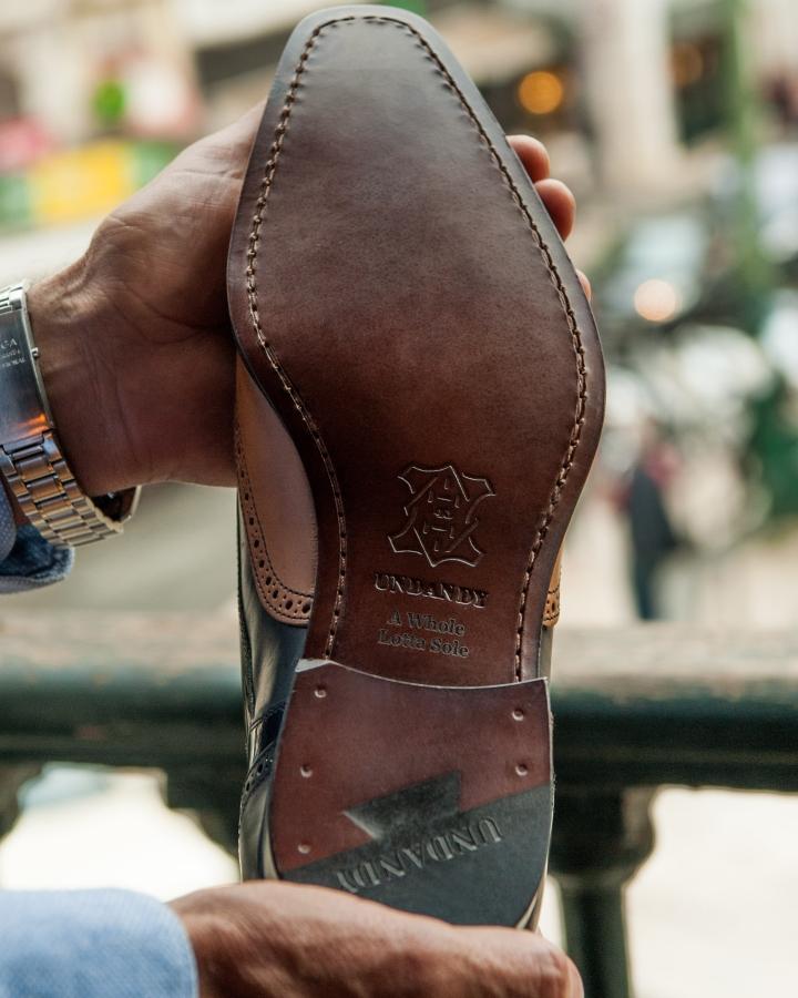 Engraved shoe - Undandy