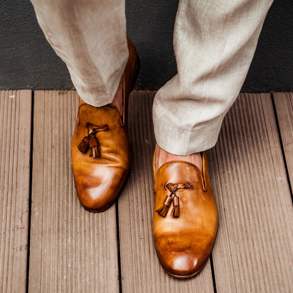 31 by Mark - Patina Loafer; man shoes